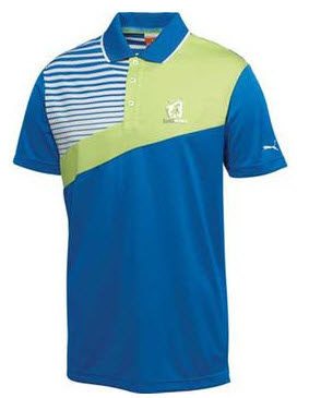 Puma custom polo shirt