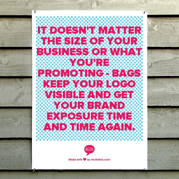 promote your brand with custom bags from ePromos