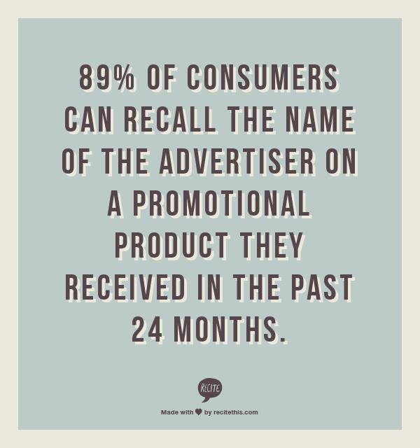 Promotional products work -- stat 4
