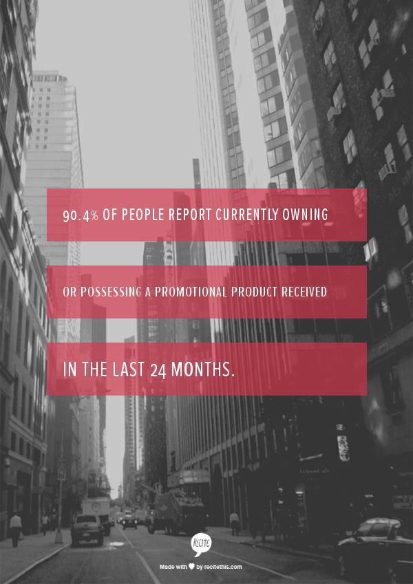 Promotional products work -- stat 7