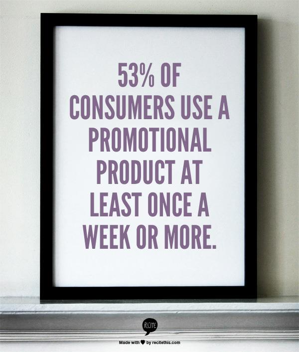 Promotional products work -- stat 8