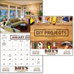 DIY projects wall calendar