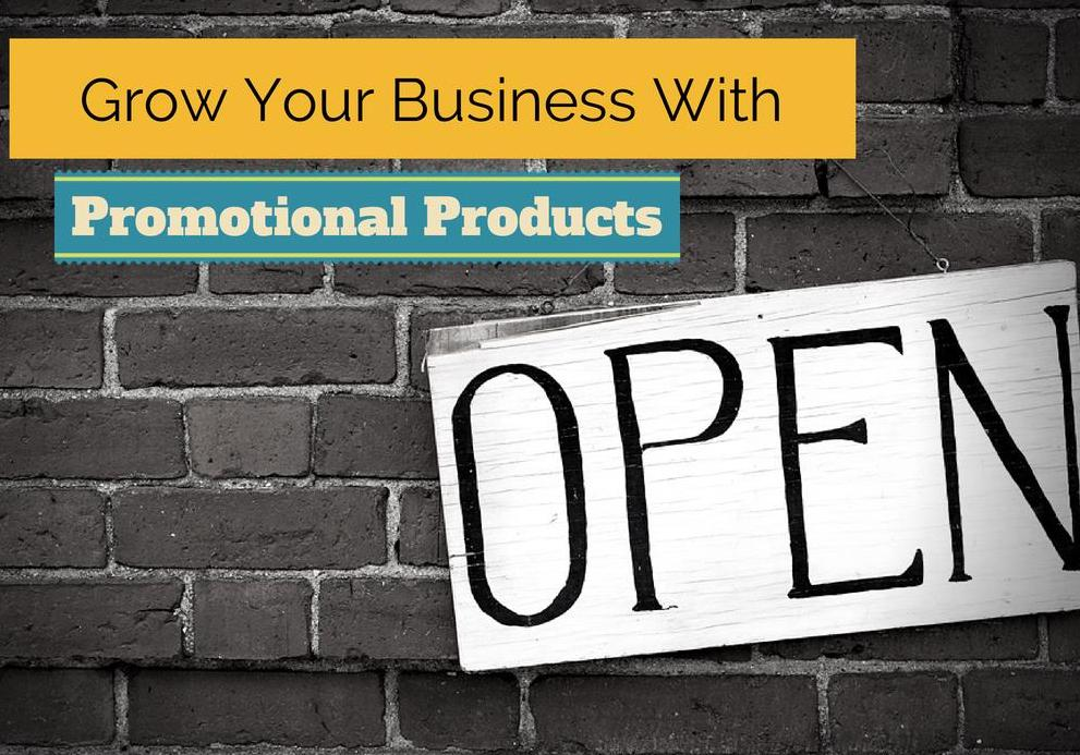 grow your business with promotional products