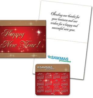 logo greeting card magnet