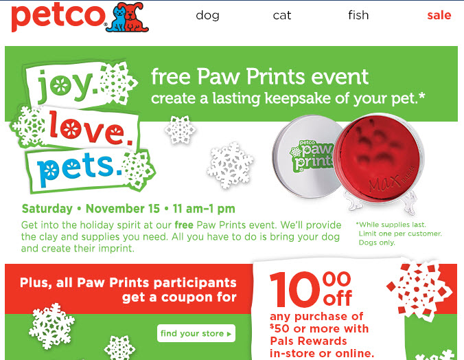 Petco promotional event