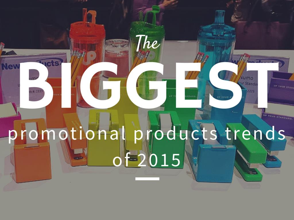 the biggest promotional products trends