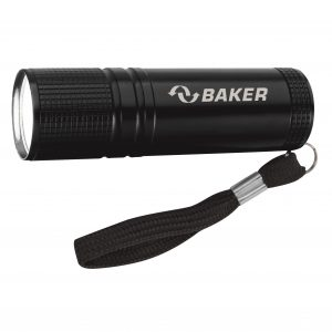 Pocket Aluminum COB Promo Flashlight w/ StrapSKU:10007737
