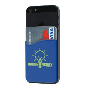 Silicone Adhesive Custom Wallets for Cell Phones SKU:10003951