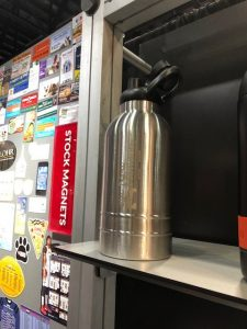 Stainless Steel Custom Vacuum Growler - 64 oz.SKU:10008329