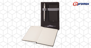 "Junior Executive Custom Tech Journal - 5.75""w x 8.5""h SKU:10008484"