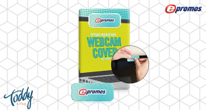 Our Toddy Gear® SpySafe™ Webcam cover allows you to customize the packaging for an even bigger impact