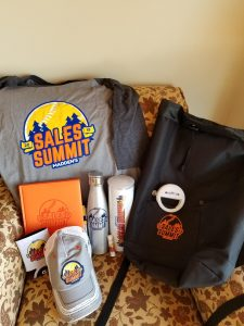Sales Summit Swag Bag