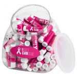 Our Full Color SPF Lip Balm Tub with 100 pieces