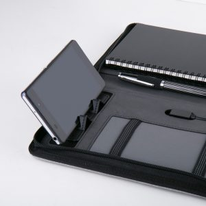 2-in-1 Promotional Portfolio and Power Bank