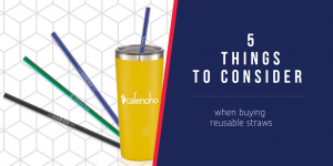 5 Things to Consider When Buying Reusable Straws
