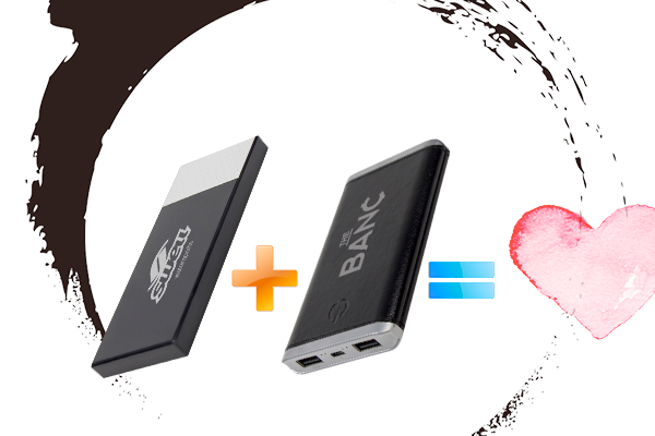 Our Two Best Selling Powerbanks