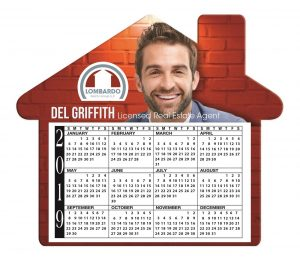 Full Color BIC Promotional Calendar Magnet