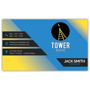 20 MM Full Color Business Card Promotional Magnet