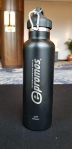 Laser Engraved Bottle with Personalization