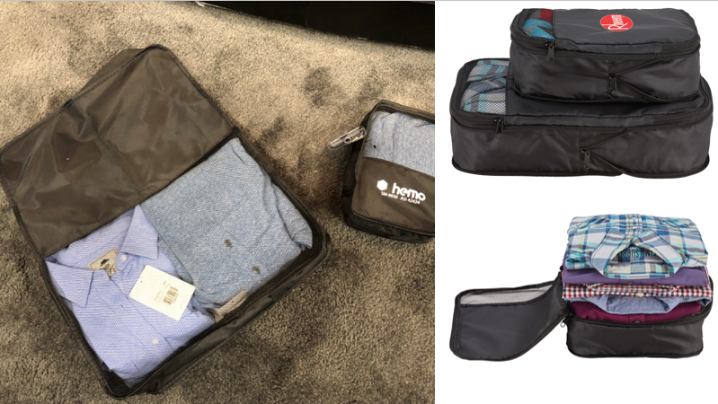Our Custom Compression Packing Cubes