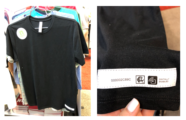 Threadfast shirts offer RFID capability