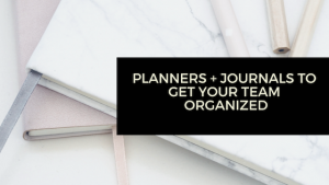 Promotional Planners and Journals
