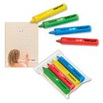 4-Pack of Kids Bath Crayons