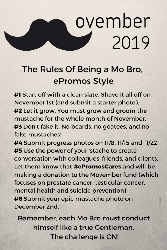 Rules of Movember